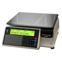 Ζυγαριά DIGI SM-100 BCS Plus με εκτυπωτή και οθόνες στο σώμα του ζυγού