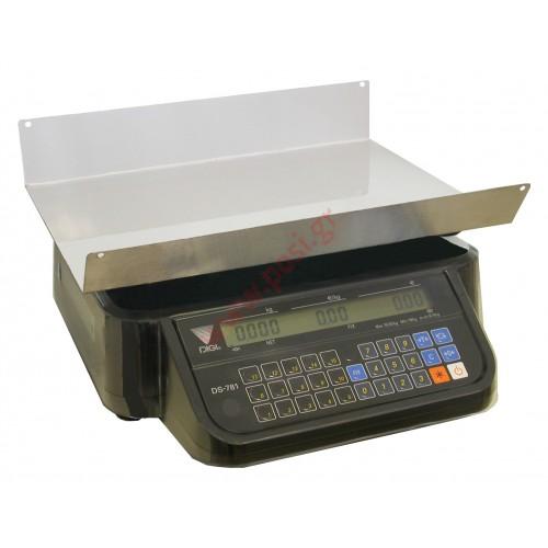 Ζυγαριά DIGI DS-781 BR χωρίς εκτυπωτή και οθόνες στο σώμα του ζυγού