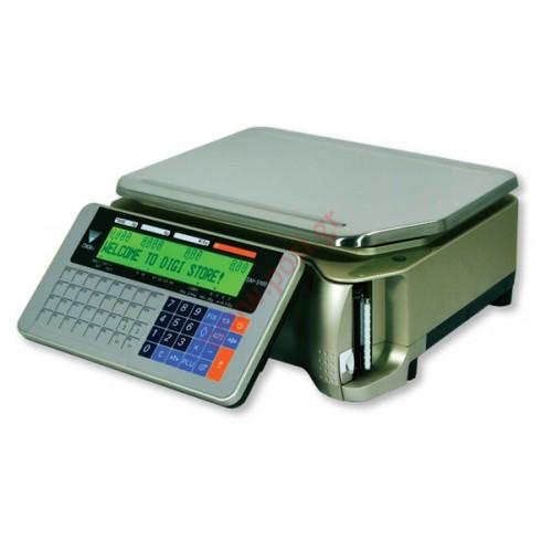 Ζυγαριά DIGI SM-5100 B με εκτυπωτή και οθόνες στο σώμα του ζυγού