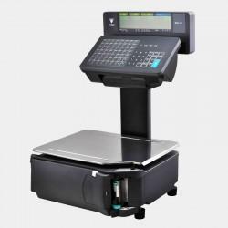 Ζυγαριά DIGI SM-120EV LL με εκτυπωτή Linerless με υπερυψωμένη οθόνη και πληκτρολόγιο