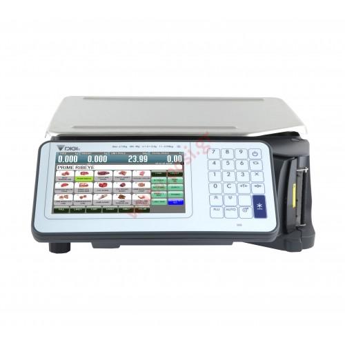Ζυγαριά DIGI SM-5300B με εκτυπωτή και οθόνη στο σώμα του ζυγού  (Pc Based)