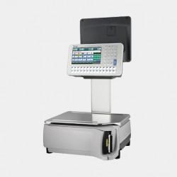 Ζυγαριά DIGI SM-5300EV Plus με εκτυπωτή-υπερυψωμένες οθόνες και πληκτρολόγιο (Pc Based)