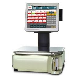 Ζυγαριά DIGI SM-5500α EV PLUS με εκτυπωτή και υπερυψωμένες οθόνες 12,1''-7'' (Pc Based)