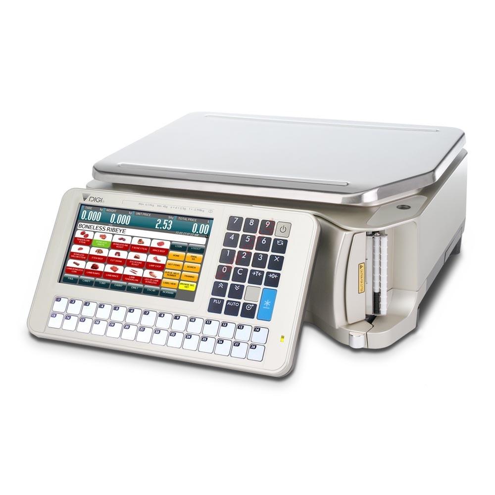Ζυγαριά DIGI SM-5500α B με εκτυπωτή και οθόνες στο σώμα του ζυγού (Pc Based)
