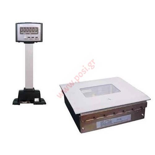 Ζυγαριά ταμείου με υποδοχή scanner DIGI DS-984FS + scale box