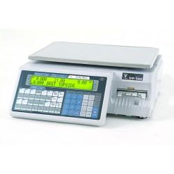 Ζυγαριά DIGI SM-500 EB MK4 με εκτυπωτή και οθόνες στο σώμα του ζυγού